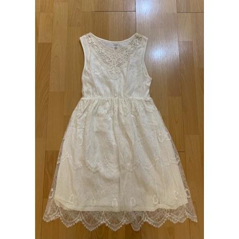 Robe mi-longue KIABI Blanc, blanc cassé, écru