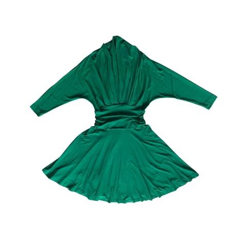 Robe courte MARCEL MARONGIU Vert