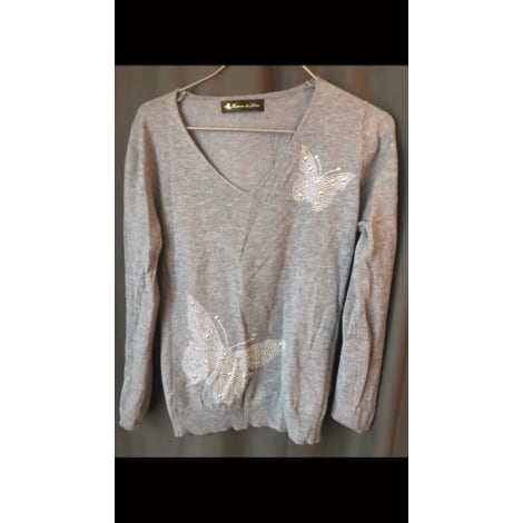 Pull ENZA & LÉA Gris, anthracite