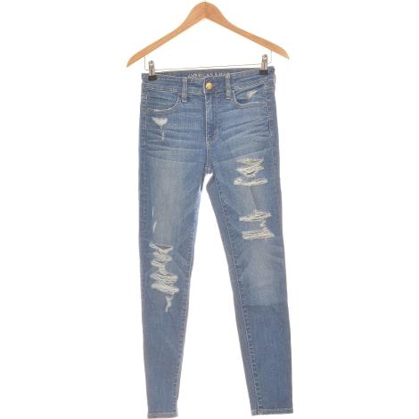 Jeans slim AMERICAN EAGLE OUTFITTERS Bleu, bleu marine, bleu turquoise