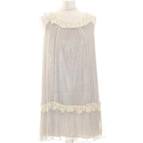 Robe courte VILA Gris, anthracite