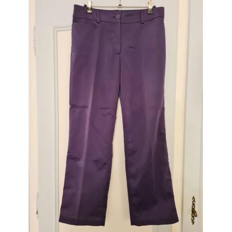 Pantalon droit CAROLL Violet, mauve, lavande