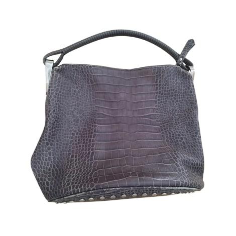 Lederhandtasche KENZO Violett, malvenfarben, lavendelfarben