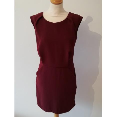 Robe courte OPULLENCE Rouge, bordeaux