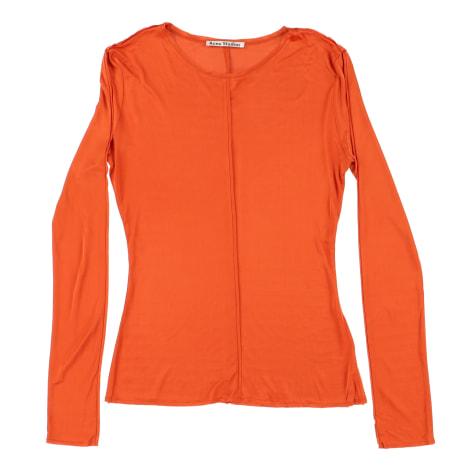 Top, tee-shirt ACNE Orange