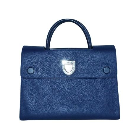 Sac en bandoulière en cuir DIOR DIOREVER Bleu, bleu marine, bleu turquoise