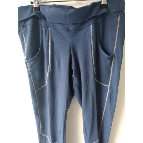 Pantalon de fitness DANSKIN Bleu, bleu marine, bleu turquoise