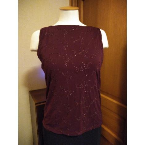 Top, tee-shirt FASHION EXPRESS Rouge, bordeaux