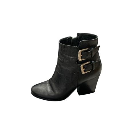 Bottines & low boots à talons THE KOOPLES Noir