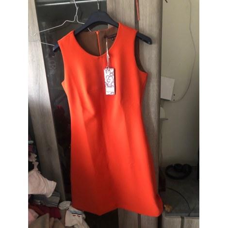 Robe mi-longue LA FÉE MARABOUTÉE Orange