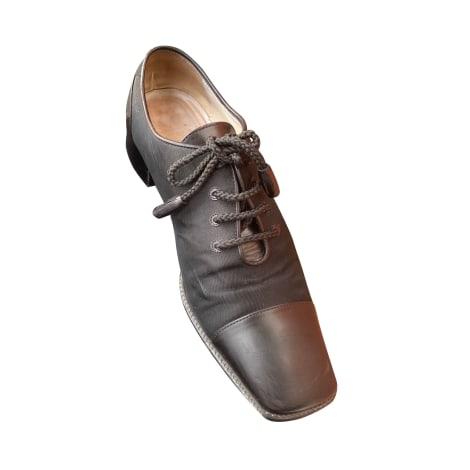 Chaussures à lacets  CHANEL Noir