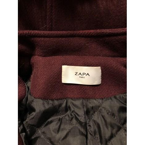 Manteau ZAPA Rouge, bordeaux
