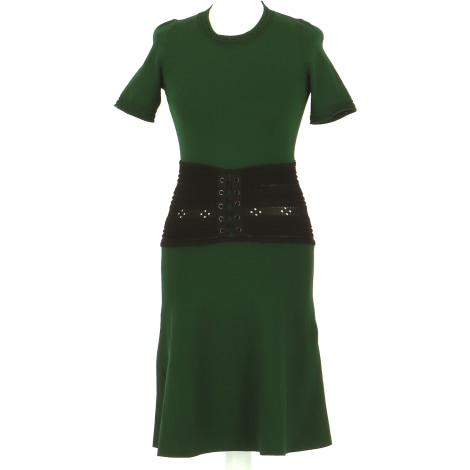 Robe mi-longue SANDRO Vert