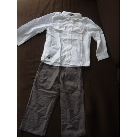 Pants Set, Outfit CATIMINI Gray, charcoal
