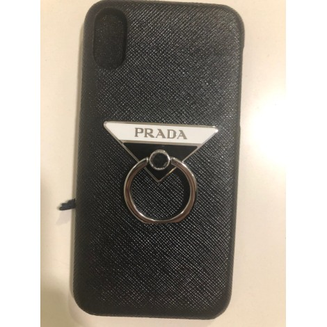 Etui iPhone  PRADA Noir