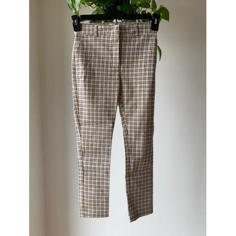Pantalon slim, cigarette ATMOSPHERE Multicouleur