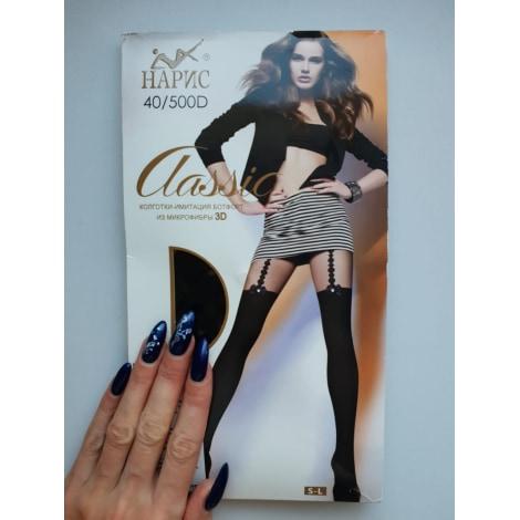 Chausettes genoux MARQUE INCONNUE Noir