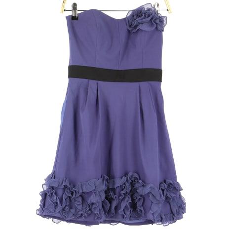 Midi Dress ALAIN MANOUKIAN Purple, mauve, lavender