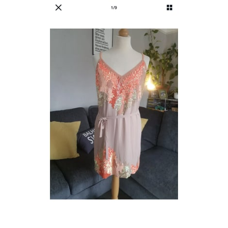 Robe courte FRENCH CONNECTION Beige, camel