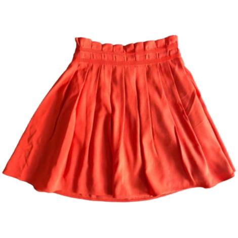 Jupe courte CLAUDIE PIERLOT Orange