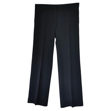 Pantalon droit MAX MARA Noir