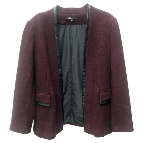 Blazer, veste tailleur MAJE Rouge, bordeaux