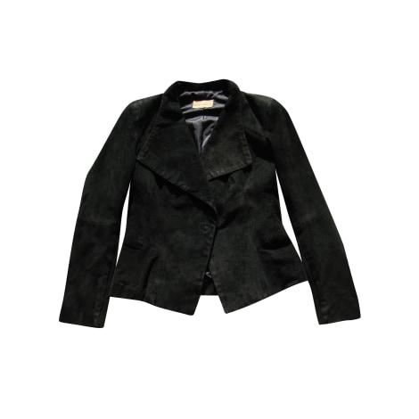 Leather Jacket ALAIN MANOUKIAN Black