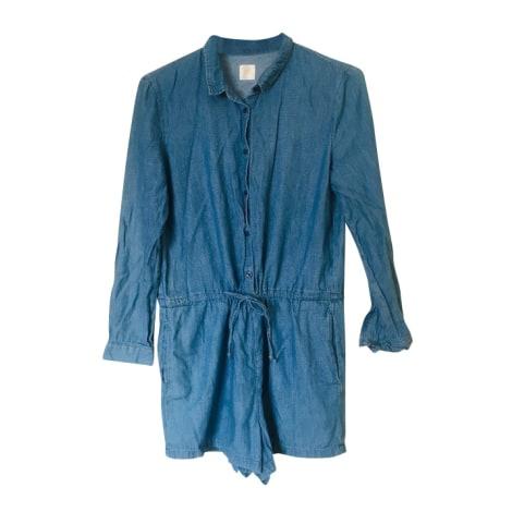 Combishort DES PETITS HAUTS Bleu, bleu marine, bleu turquoise