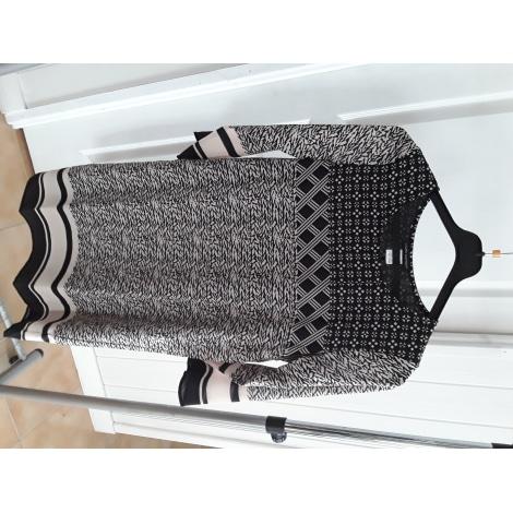 Robe mi-longue LAURA CLÉMENT Multicouleur