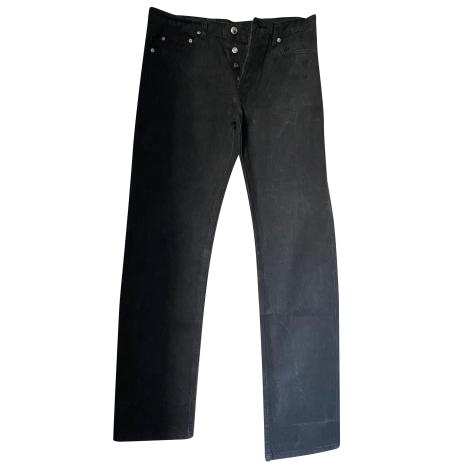 Jeans droit APC Noir