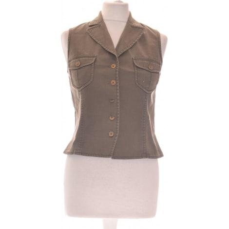 Vest, Cardigan ALAIN MANOUKIAN Green