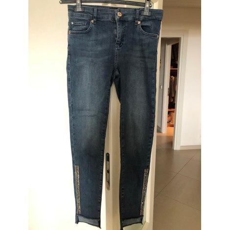 Jeans slim DENNY ROSE Bleu, bleu marine, bleu turquoise
