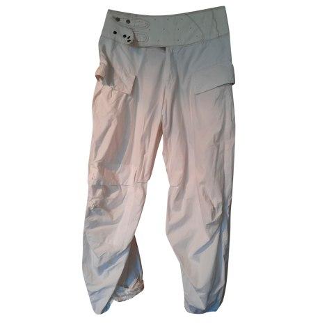 Pantalon très evasé, patte d'éléphant MARITHÉ ET FRANÇOIS GIRBAUD Blanc, blanc cassé, écru