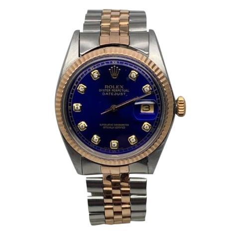 Wrist Watch ROLEX DATEJUST Blue, navy, turquoise