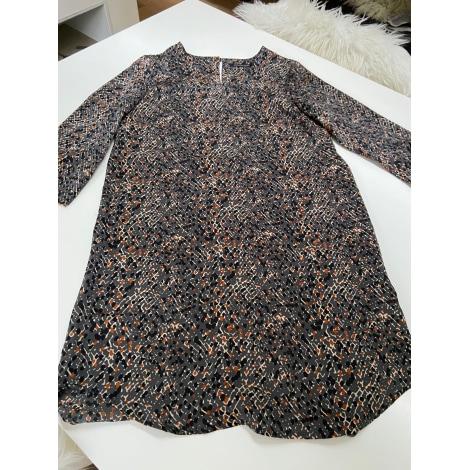 Robe courte MONOPRIX Marron