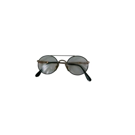 Monture de lunettes LACOSTE Doré, bronze, cuivre