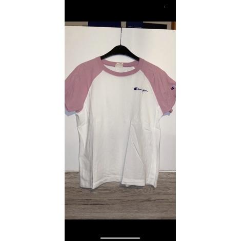 Top, tee-shirt CHAMPION Blanc, blanc cassé, écru