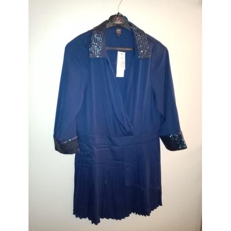 Combishort MISS CAPTAIN Bleu, bleu marine, bleu turquoise
