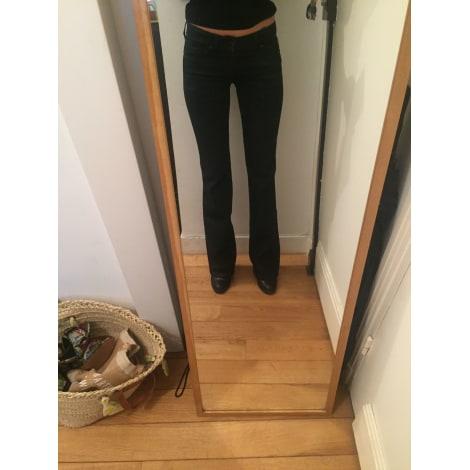 Jeans évasé, boot-cut 7 FOR ALL MANKIND Noir