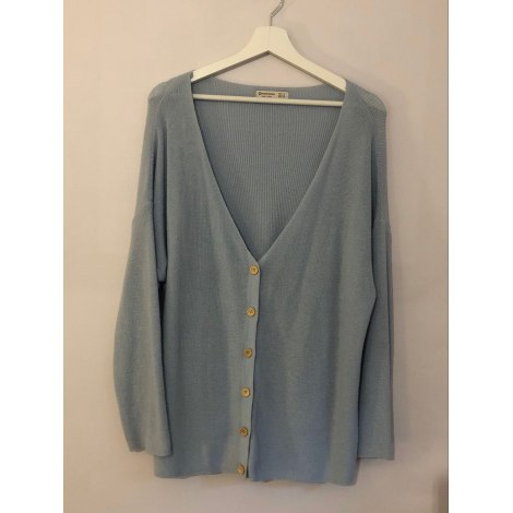Gilet, cardigan STRADIVARIUS Bleu, bleu marine, bleu turquoise