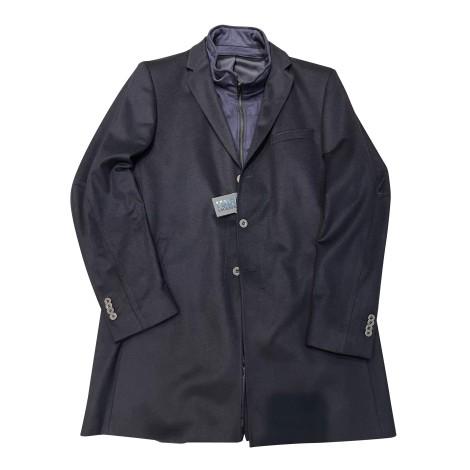 Coat KARL LAGERFELD Blue, navy, turquoise