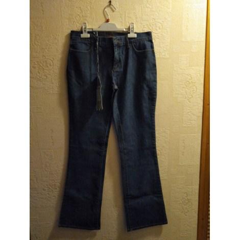 Pantalon évasé OBER Bleu, bleu marine, bleu turquoise