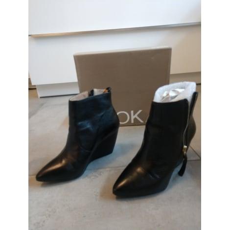 Bottines & low boots à compensés KOOKAI Noir