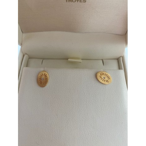 Boucles d'oreille LOUISE HENDRICKS Doré, bronze, cuivre