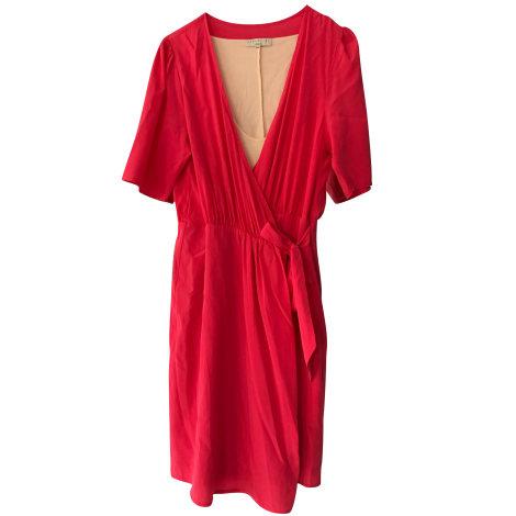 Robe courte ESSENTIEL ANTWERP Rouge, bordeaux