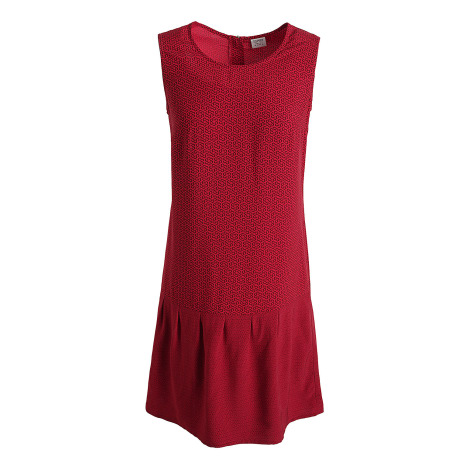 Robe courte ESPRIT Rouge, bordeaux