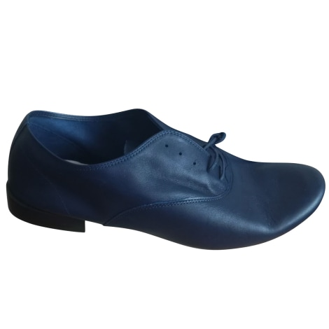 Lace Up Shoes REPETTO Blue, navy, turquoise
