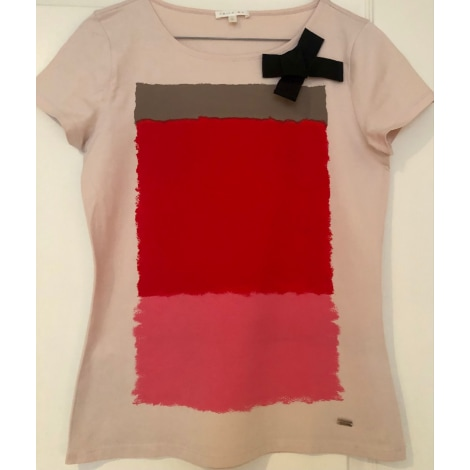 Top, tee-shirt PAULE KA Rose, fuschia, vieux rose