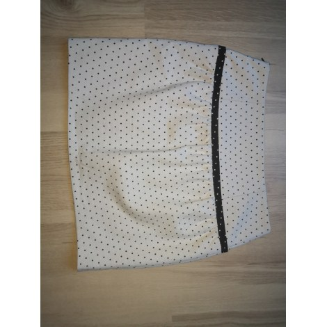 Jupe courte NAF NAF Blanc, blanc cassé, écru