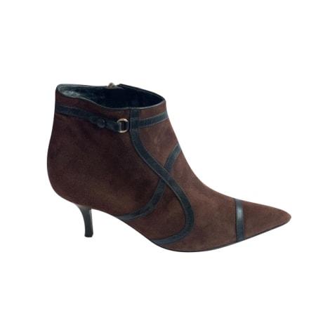 Bottines & low boots à talons BRUNO MAGLI Marron